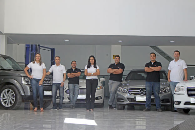 Equipe Mecânica Moura Premium